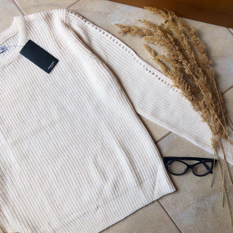 Теплий светр свитер mango новий - Фото 2