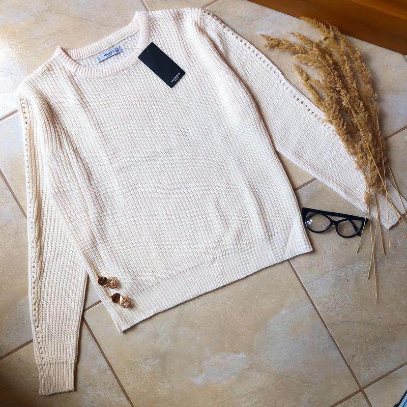 Теплий светр свитер mango новий - Фото 4