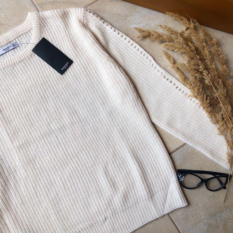 Теплий светр свитер mango новий - Фото 3