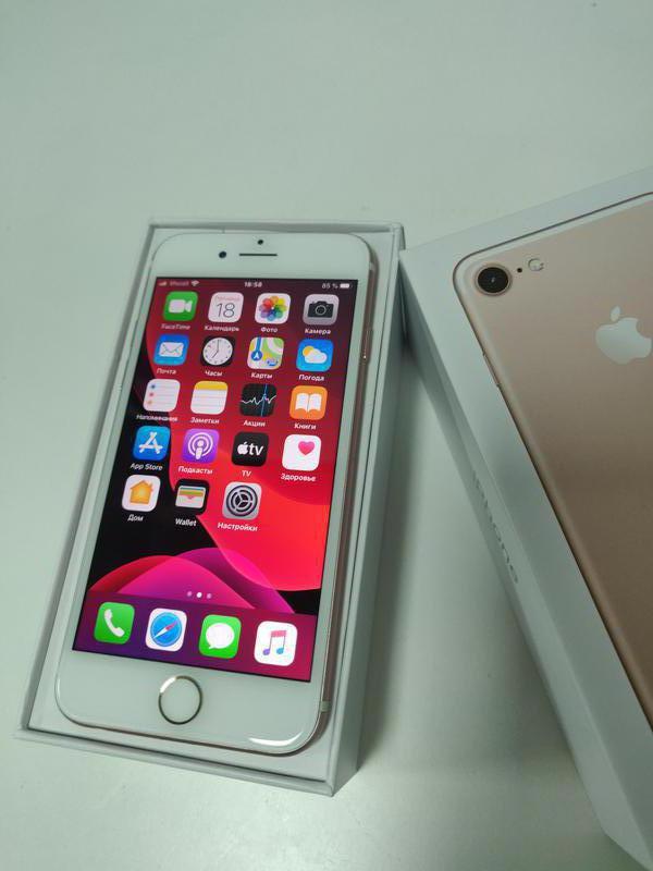 IPhone 7 32Gb Rose Gold / Висит на активации после обновления