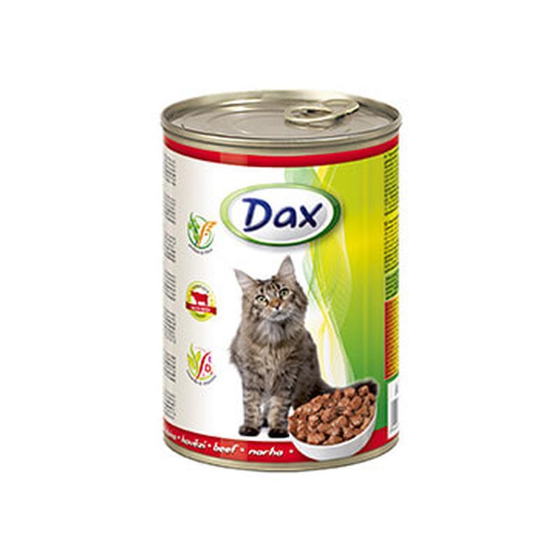 Венгерский Паштет для кошек Дакс Говядина