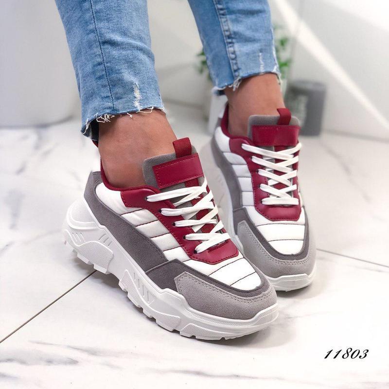 Модные женские кроссовки, жіночі кросівки 37,38р код 11803