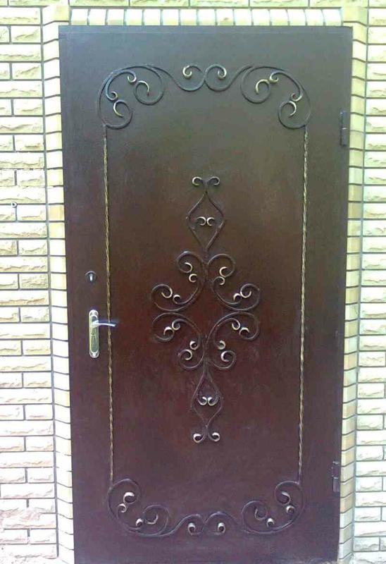 Кованые двери - Фото 2