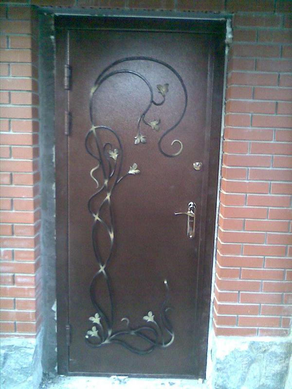Кованые двери - Фото 6