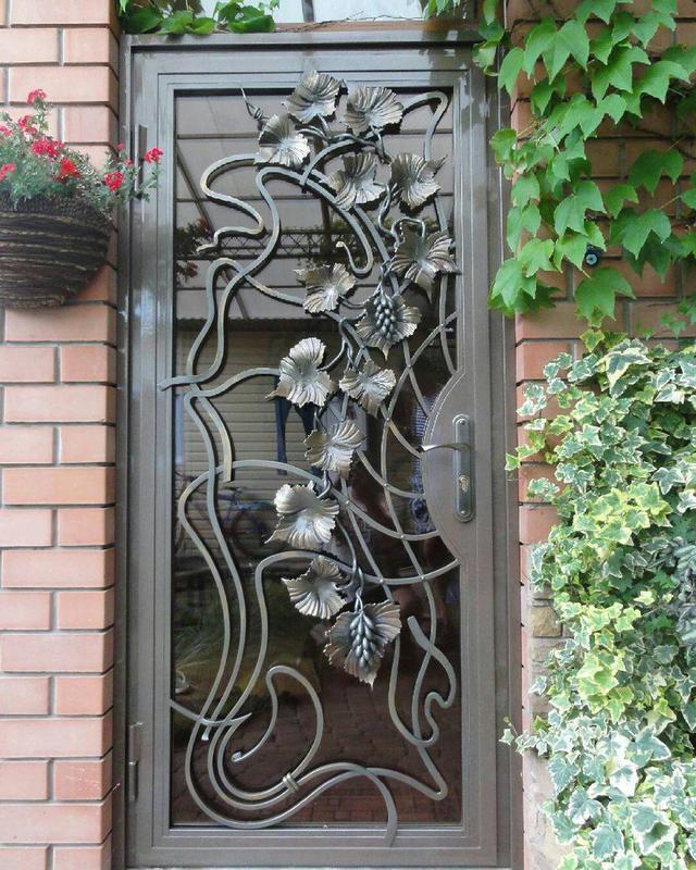 Кованые двери - Фото 9