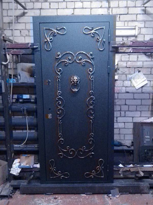 Кованые двери - Фото 10