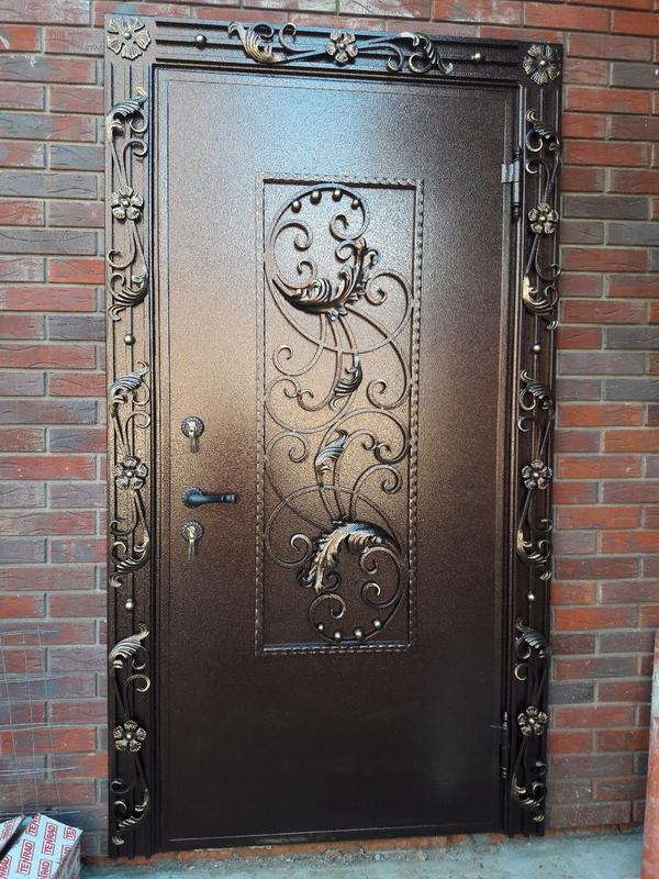 Кованые двери - Фото 11
