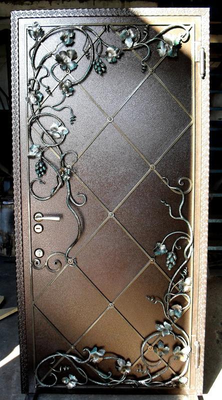 Кованые двери - Фото 16