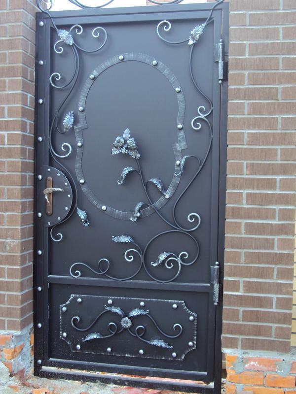 Кованые двери - Фото 17