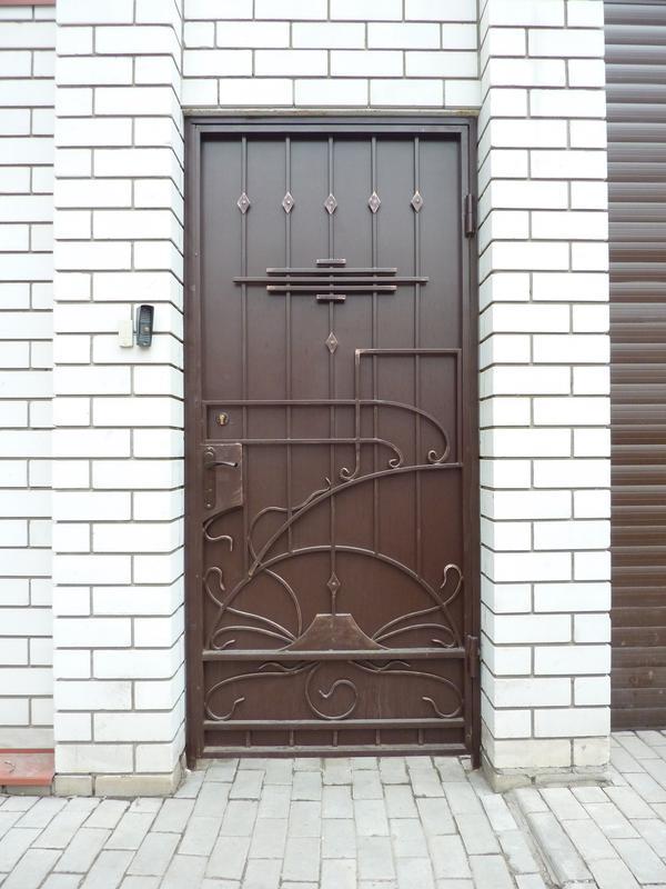 Кованые двери - Фото 18