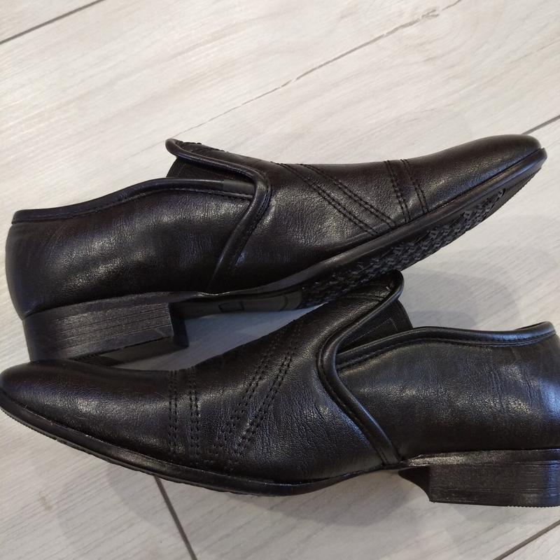Кожаные туфли подросток р. 36  kellaifeng - Фото 2