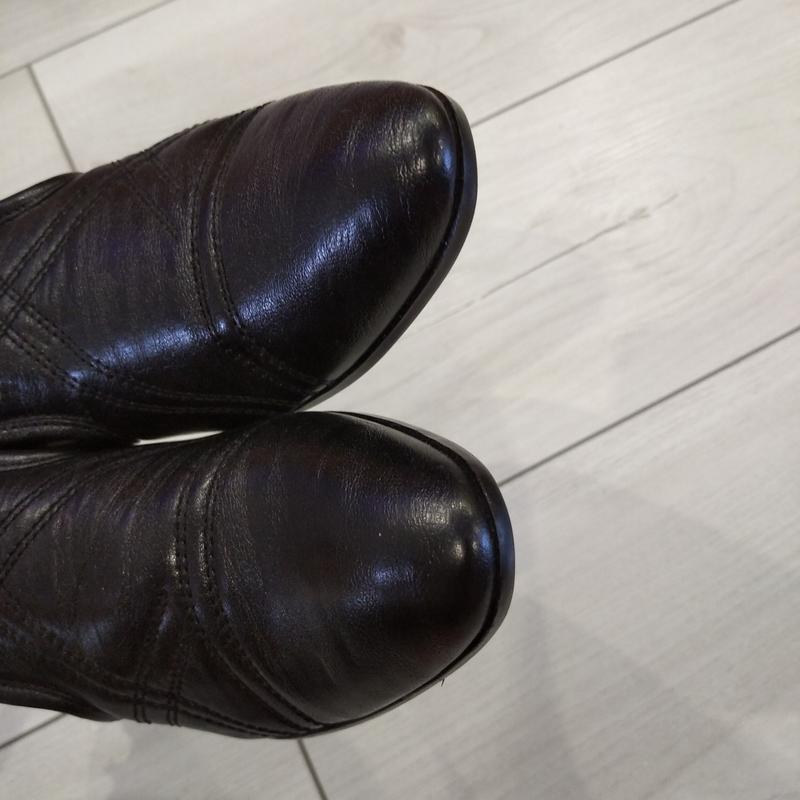 Кожаные туфли подросток р. 36  kellaifeng - Фото 5