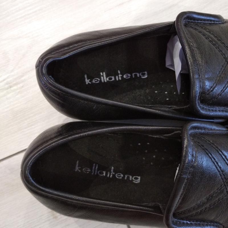 Кожаные туфли подросток р. 36  kellaifeng - Фото 6