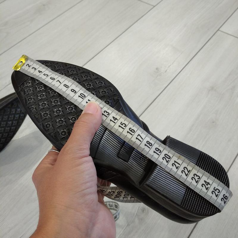 Кожаные туфли подросток р. 36  kellaifeng - Фото 8
