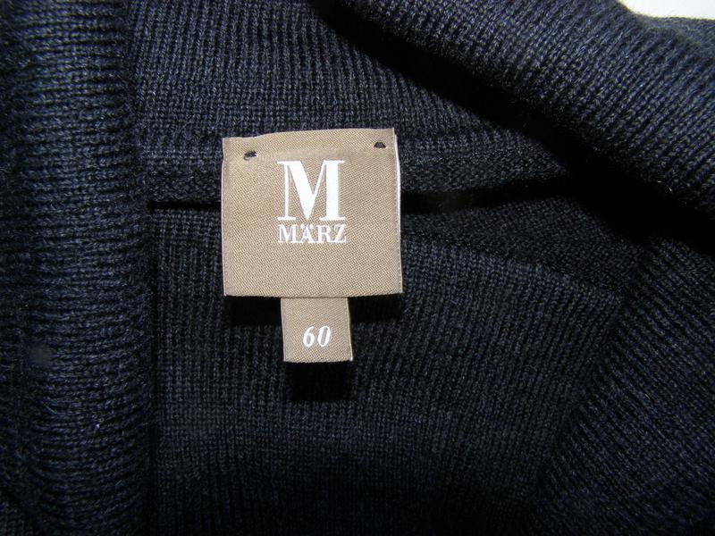 Marz мужской гольф 100% натуральная шерсть 60-размер
