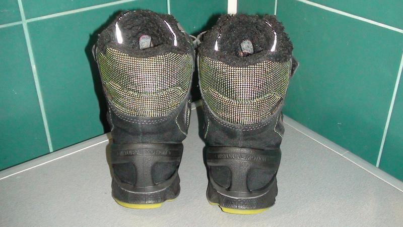 Ecco biom gore-tex - шкіряні зимові черевики. р - 34 - Фото 4