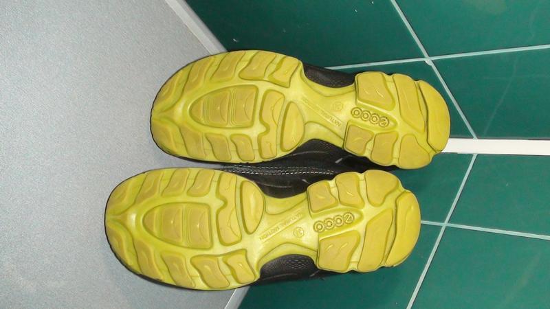Ecco biom gore-tex - шкіряні зимові черевики. р - 34 - Фото 5