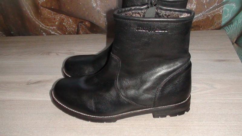 Jean paul - шкіряні чобітки. р - 39 (25.5см)