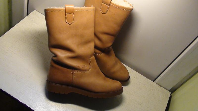 Camel boots - шкіряні зимові чоботи. р- 41 (26.5см)