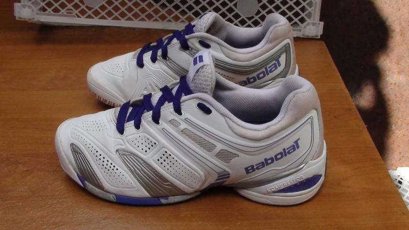 Babolat- тенісні кросівки. р- 40.(25.5см).