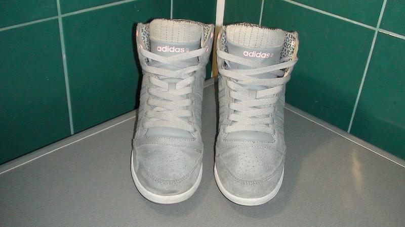 Adidas neo label- замшеві снікерси. р- 40.(25см). - Фото 2