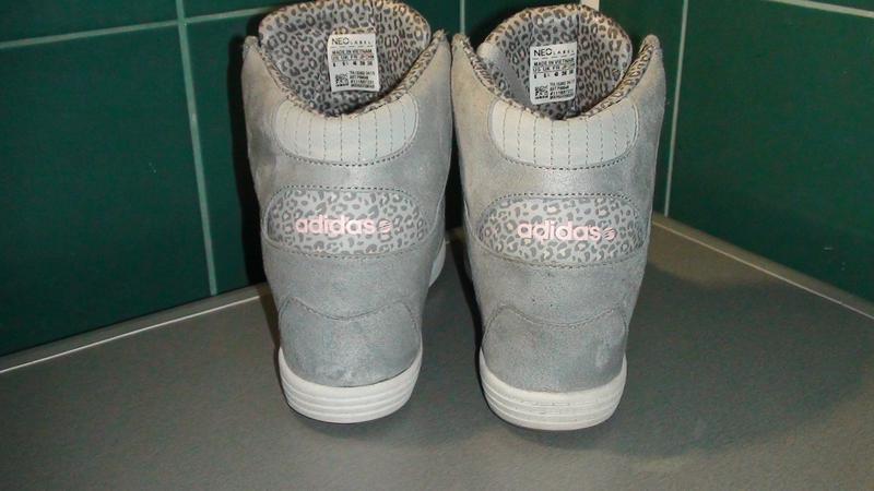 Adidas neo label- замшеві снікерси. р- 40.(25см). - Фото 3