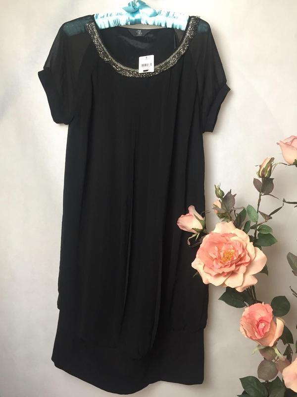 Великолепное комбинированное платье от m 2b