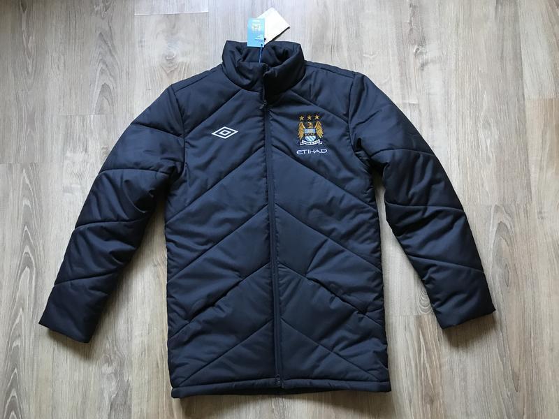 Мужская зимняя куртка umbro manchester city fc