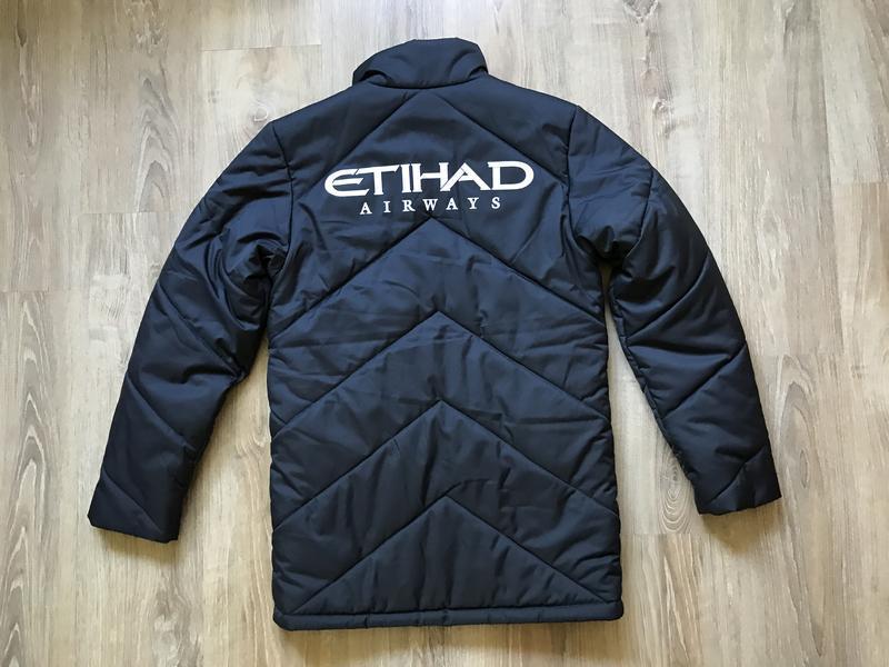 Мужская зимняя куртка umbro manchester city fc - Фото 2