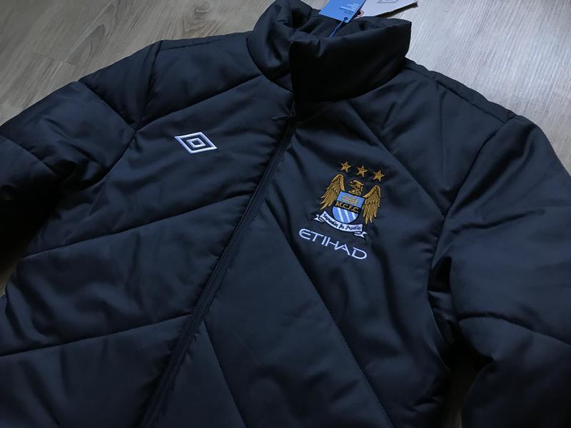 Мужская зимняя куртка umbro manchester city fc - Фото 4