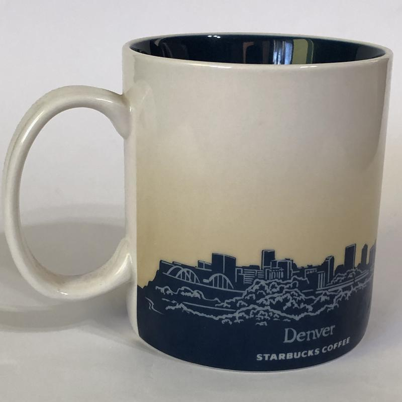 Коллекционная чашка starbucks coffee с городом ! - Фото 3