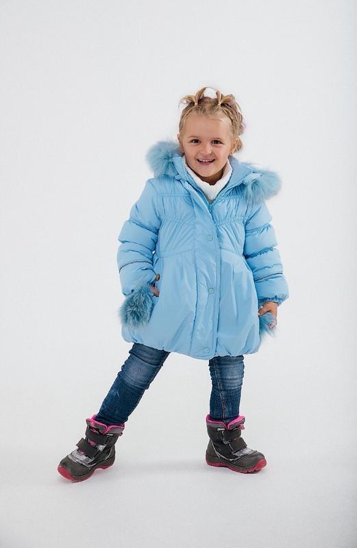 Продам стильную детскую куртку для девочки, новая!