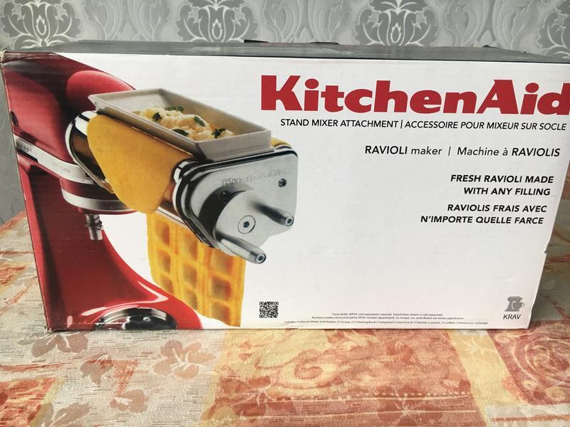 KitchenAid Насадка для равиоли, ручной привод.