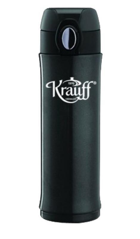 Термокружка вакуумная KRAUFF 400 мл. черная Германия