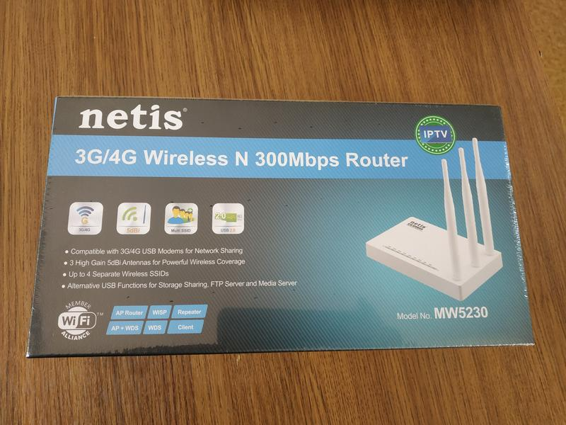 WiFi маршрутизатор Netis MW5230  3g 4 g