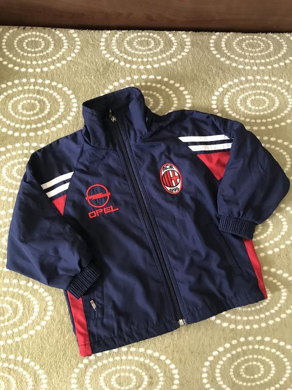 Дитяча спортивна куртка на хлопчика вітровка спортивная куртка