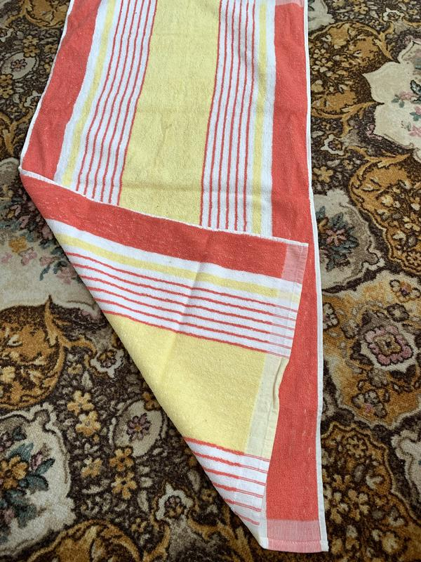 Советское махровое полотенце - Фото 2