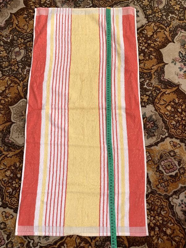 Советское махровое полотенце - Фото 4