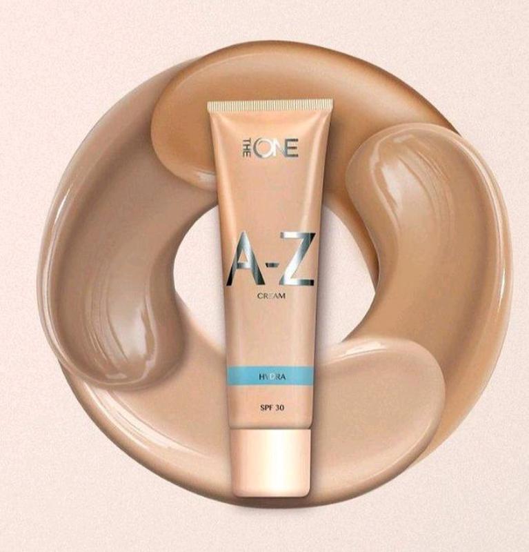 Мультифункциональный матирующий крем-тон для лица a-z hudra