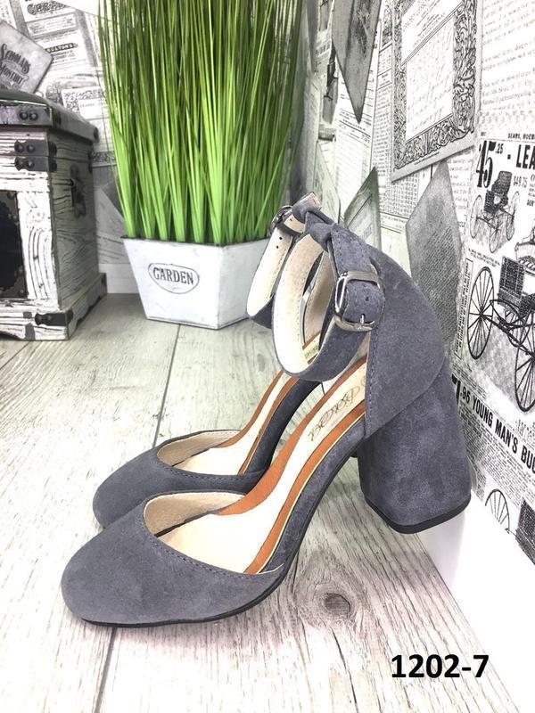 Эксклюзивные открытые туфли из натуральной итальянской замши