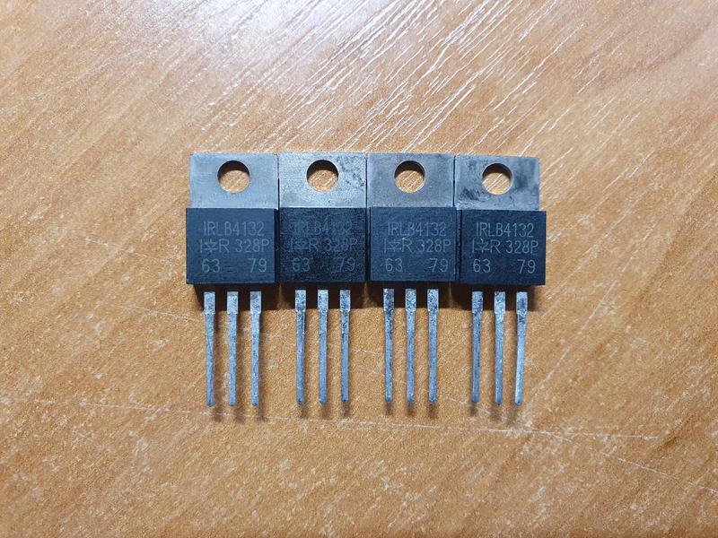 Мосфеты IRLB4132 (TO-220 30V 78A)
