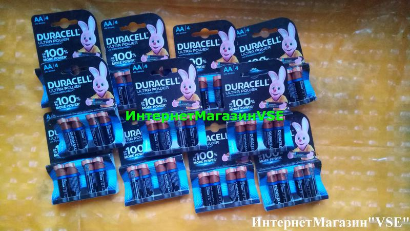 Батарейки Duracell Ultra Power 1.5В MX1500-LR6 AA 4шт ПАЛЬЧИКОВЫЕ - Фото 5