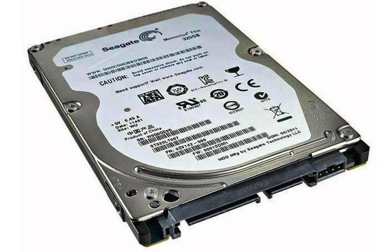 Жесткий диск для ноутбука Seagate Momentus Thin 320GB 2.5