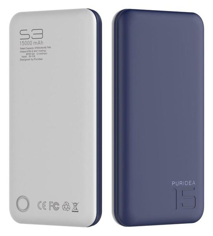 Портативное зарядное устройство Puridea S3 15000mAh Li-Pol - Фото 4