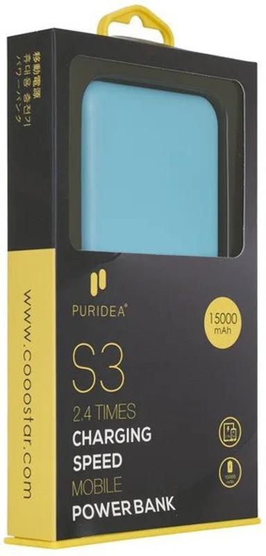 Портативное зарядное устройство Puridea S3 15000mAh Li-Pol - Фото 3