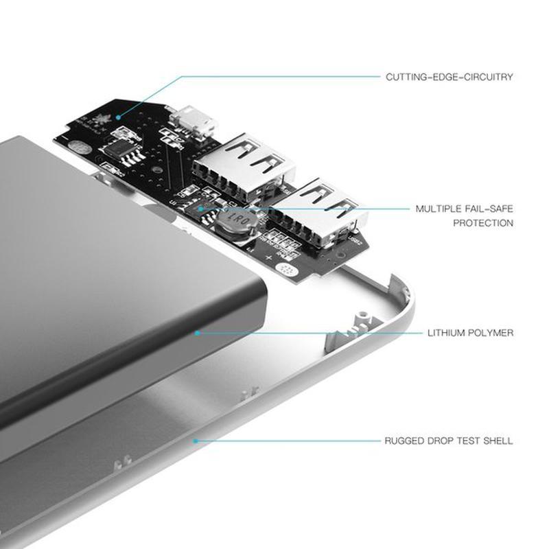Портативное зарядное устройство Puridea S3 15000mAh Li-Pol - Фото 9