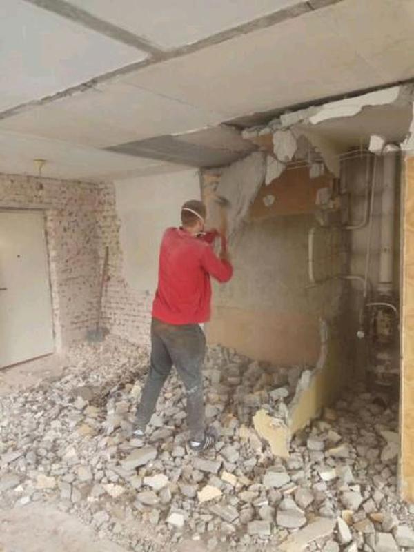 Демонтаж старых домов, ветхих зданий.Демонтаж плитки,стяжки,стен. - Фото 5