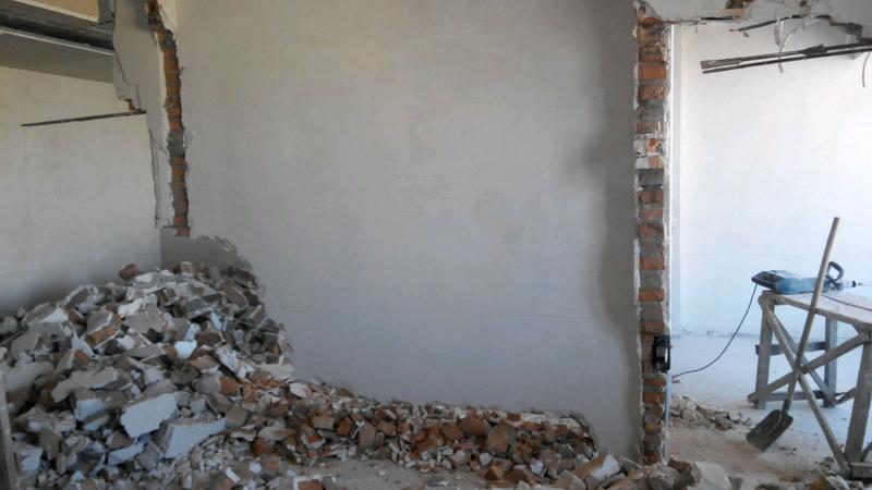 Демонтаж старых домов, ветхих зданий.Демонтаж плитки,стяжки,стен. - Фото 6