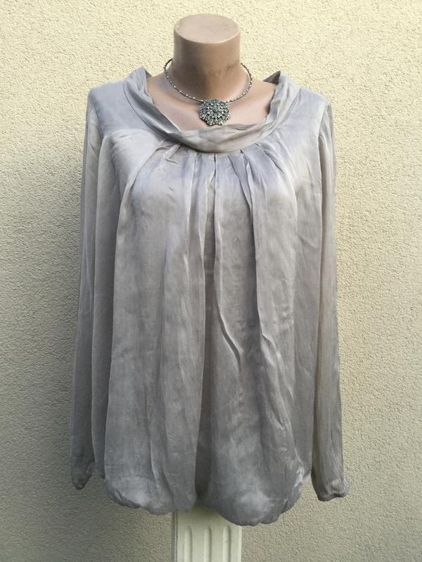 Шелковая блуза,рубаха,кофточка,шелк100%,италия,этно,бохо стиль