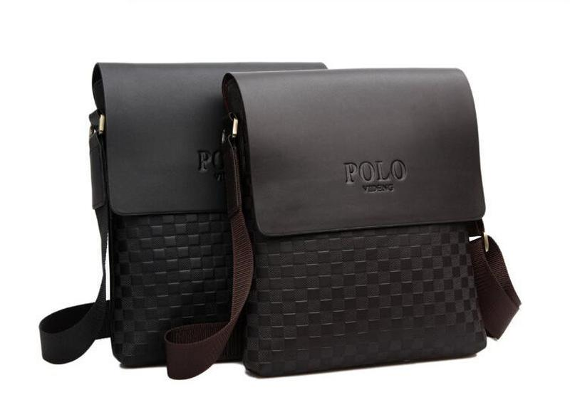 Мужская сумка через плечо Polo videng paris